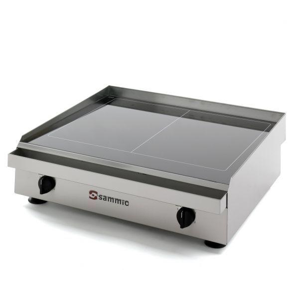Plancha vitrocer mica pv 650 sammic la casa de las for Plancha electrica para cocinar